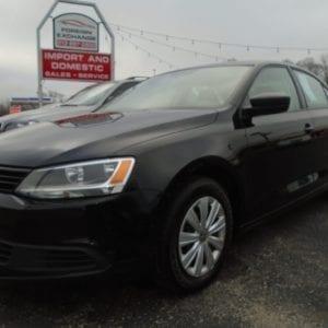 2014 Used Volkswagon Jetta Black Dayton